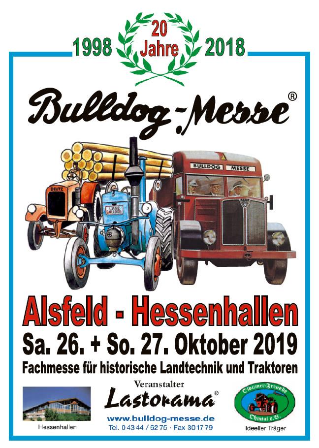 Bulldog-Messe Alsfeld 26.-27.10.2019