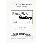 Lista de repuestos d6516 Edición en español