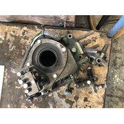 Main bearing cap, pumps, control valve