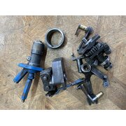 Oil pump, return pump, regulator, control linkage d1706