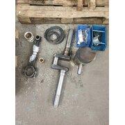 Crankshaft, piston, connecting rod, renew d7506