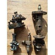 Overhaul oil pumps, regulator, nozzle, injection pump