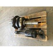 Crankshaft, connecting rod, oiler, return pump, main...