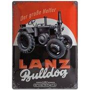 Blechschild Lanz Bulldog Glühkopf