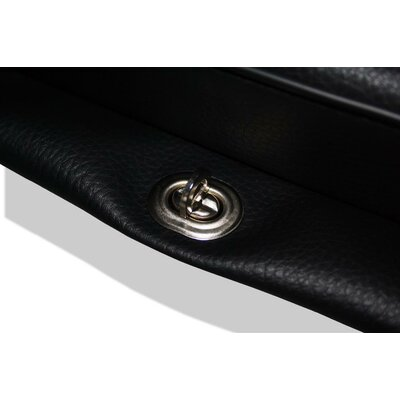 Seat cushion on fender, black, without lettering, approx. 500x250mm