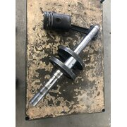 Crankshaft, connecting rod, piston