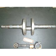Crankshaft and connecting rod