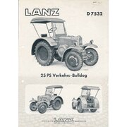 Lanz Bulldog d7532
