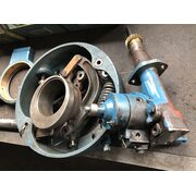 Return pump, lubricator, regulator, thumb shaft, eccentric