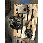 Crankshaft, crankcase, cylinder, control unit