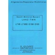 Reparaturhandbuch Lanz D1306, LT85 u.a.