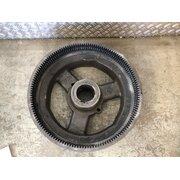 Flywheel small disc clutch