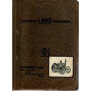 Lista de repuestos para Lanz 22/28ps LANZ-Grossbulldog...