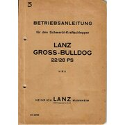 Manuale di istruzioni per Lanz 22/28ps LANZ-Grossbulldog...